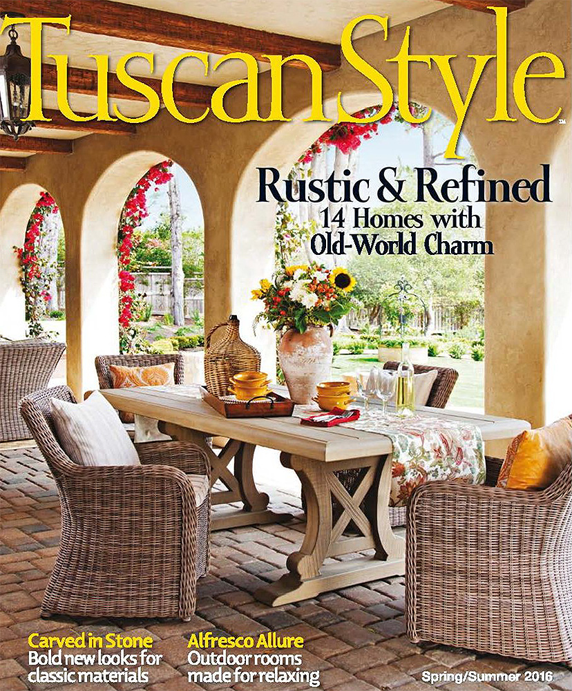 TUSCAN STYLE    Summer 2016   Eclectic Cadence