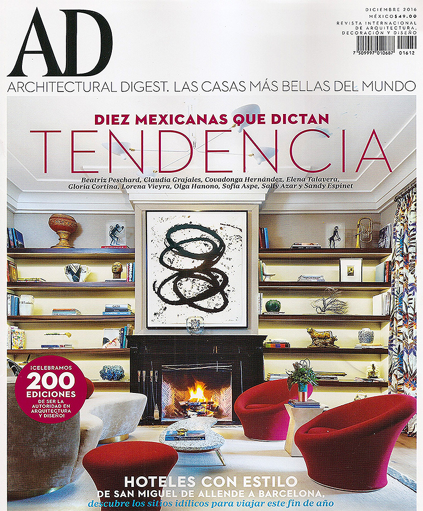 ARCHITECTURAL DIGEST - MEXICO    December 2016   Aires Californianos