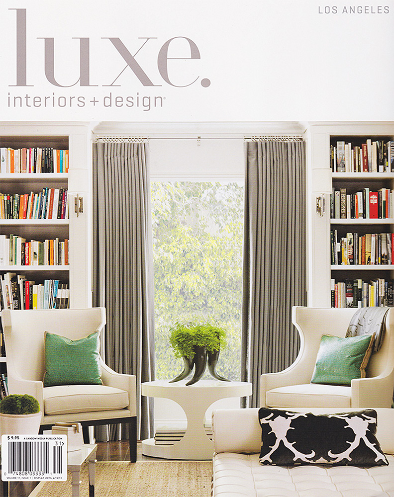 LUXE INTERIORS + DESIGN    Winter 2013    Italian Accent