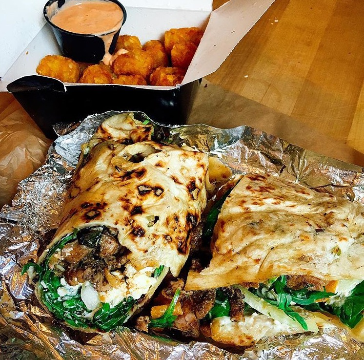 Howling Wrap & Tots from Wolfnights