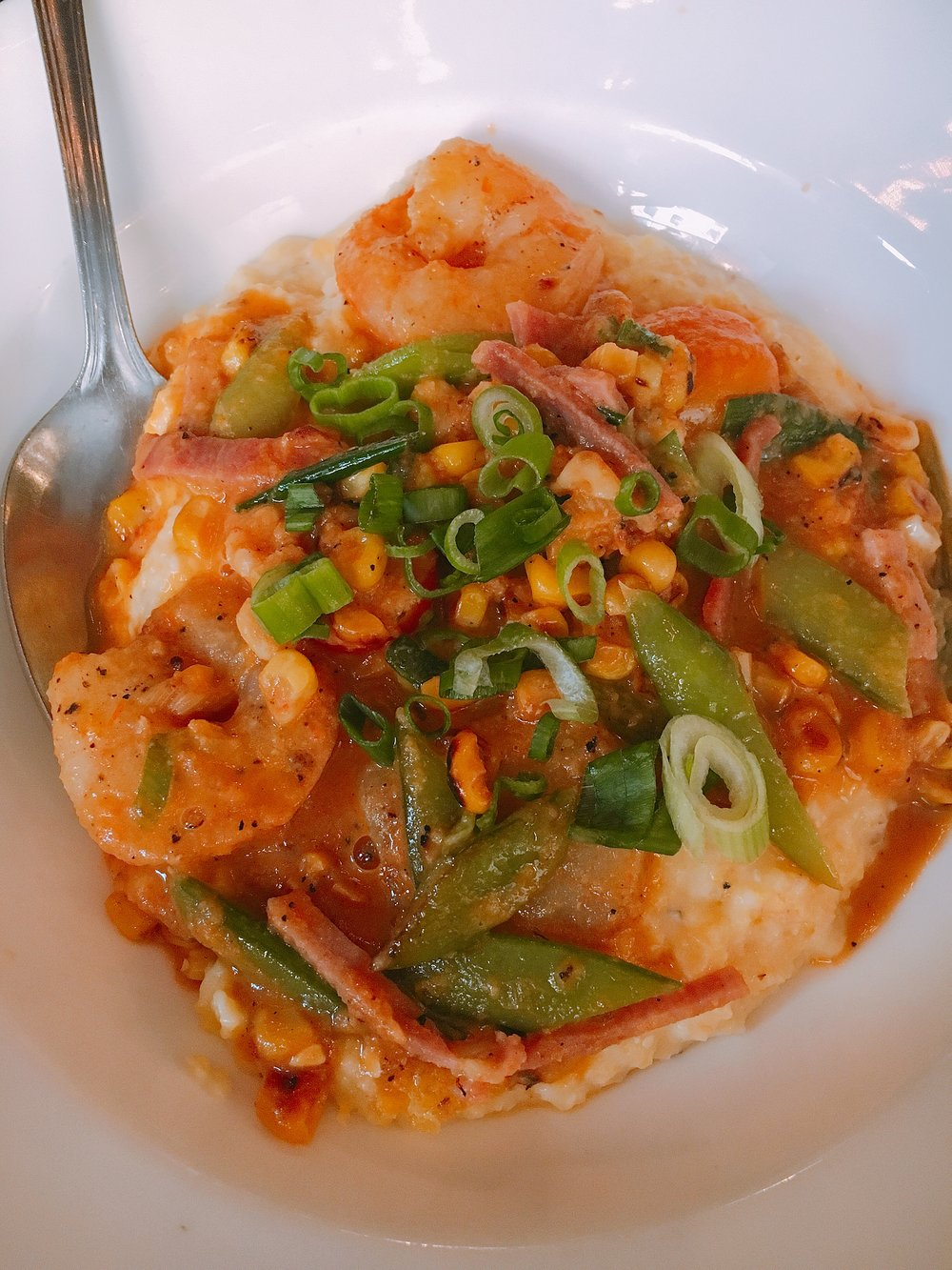 Shrimp & Grits from Root & Bone