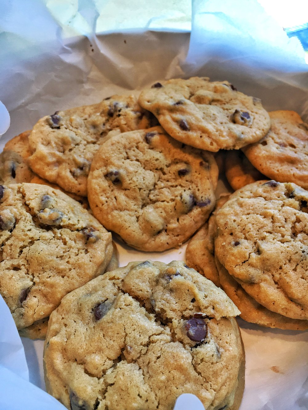 Host the Toast Cafe Style Chocolate Chip Cookies