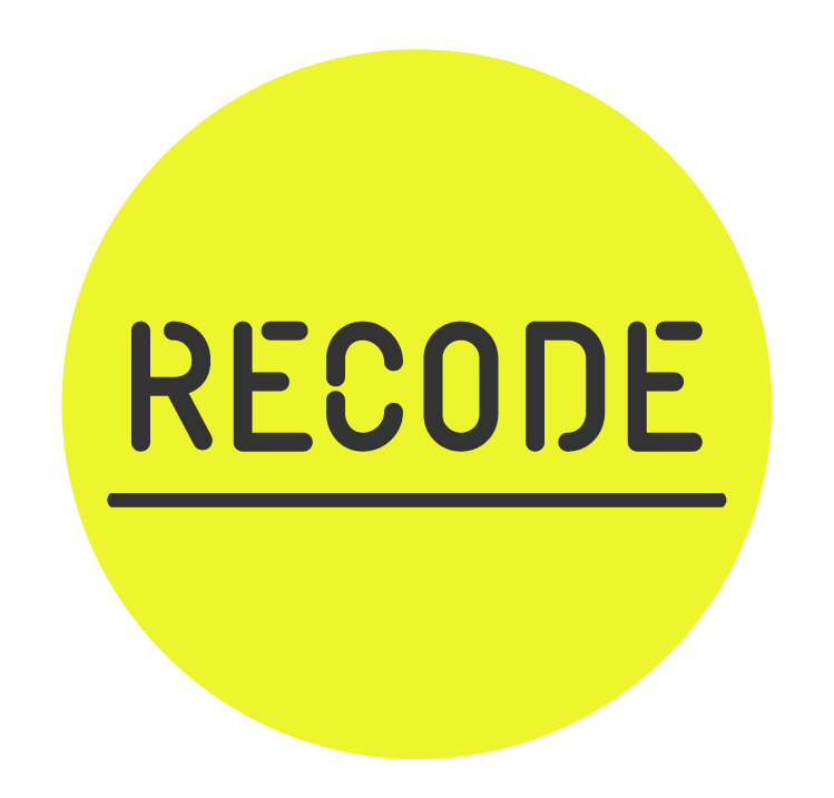recode_circle_solid_underline_black-on-yellow.png
