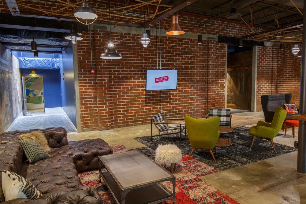 architecture interior reception area
