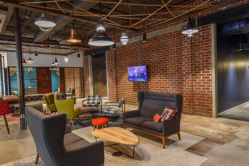 Larmon Warehouse Interior