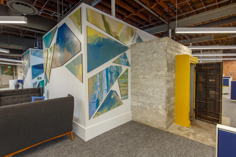 architecture interior workspace