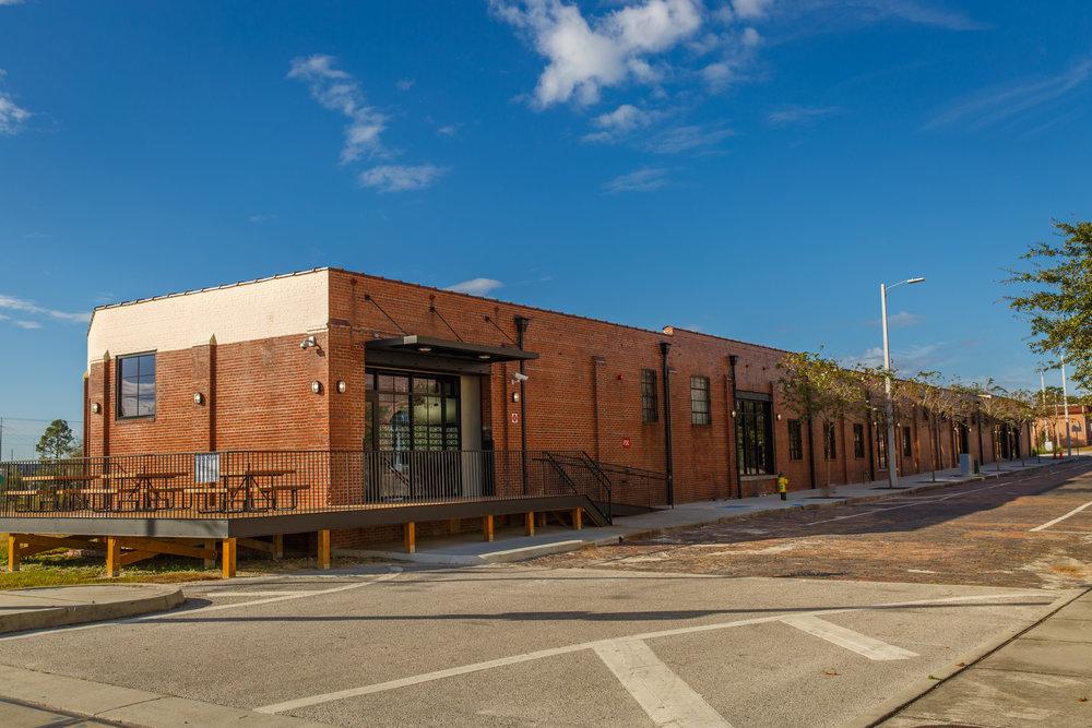 Larmon Warehouse Outside