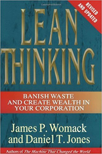 This is the premier book on Lean.  Although focused on manufacturing it spells out the wastes and cultural structure you need to create for Lean to work.
