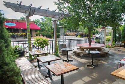 Red Wagon patio