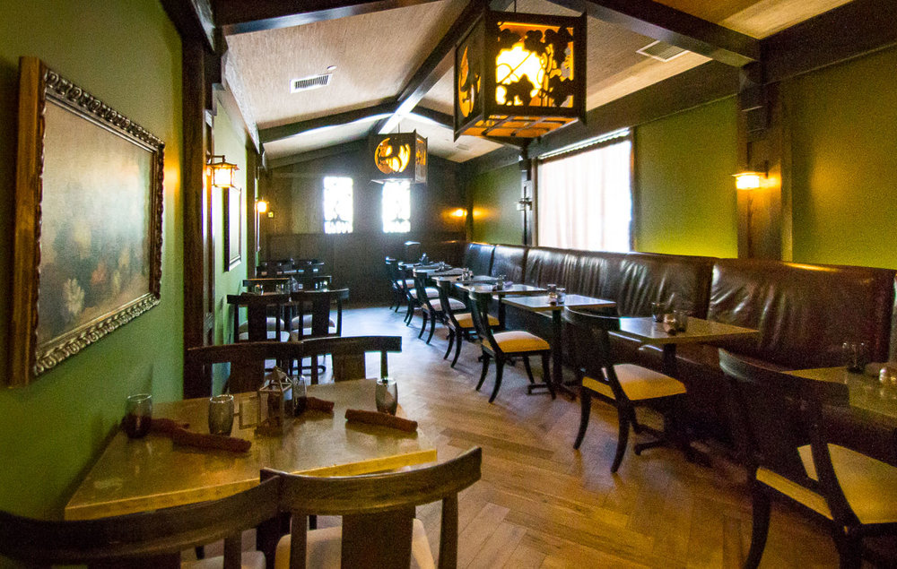 Bradstreet private dining area