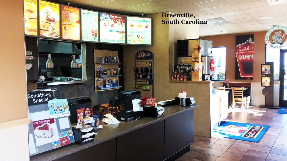 Greenville, SC Dairy Queen -   AFTER