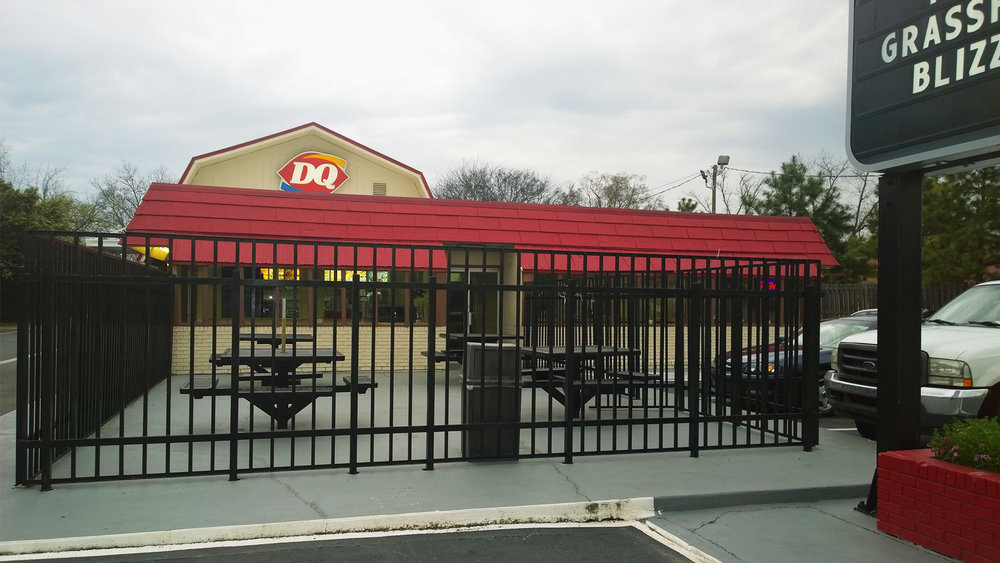 Hawkinsville, GA   Dairy Queen -   BEFORE