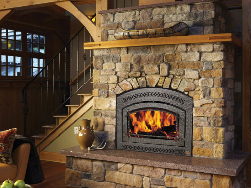 Fireplace Xtrordinair Elite 44 High Efficiency Wood Burning Fireplace