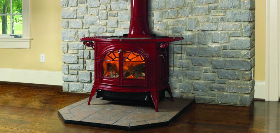 Vermont Castings Bordeaux Defiant Flexburn Wood Burning Stove