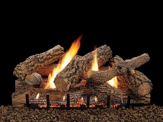 American Hearth Saratoga Vent Free Gas Logs
