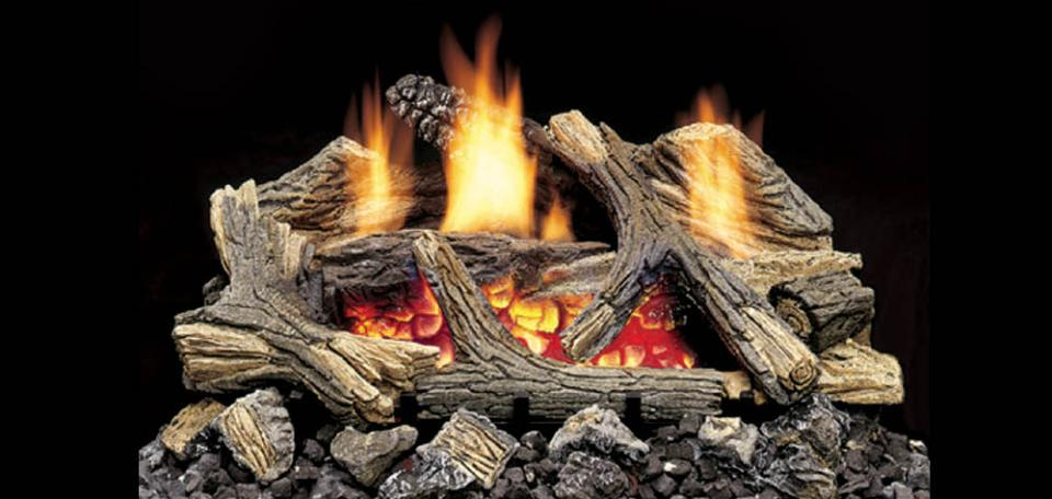 Monessen Aged Hickory Vent Free Gas Logs