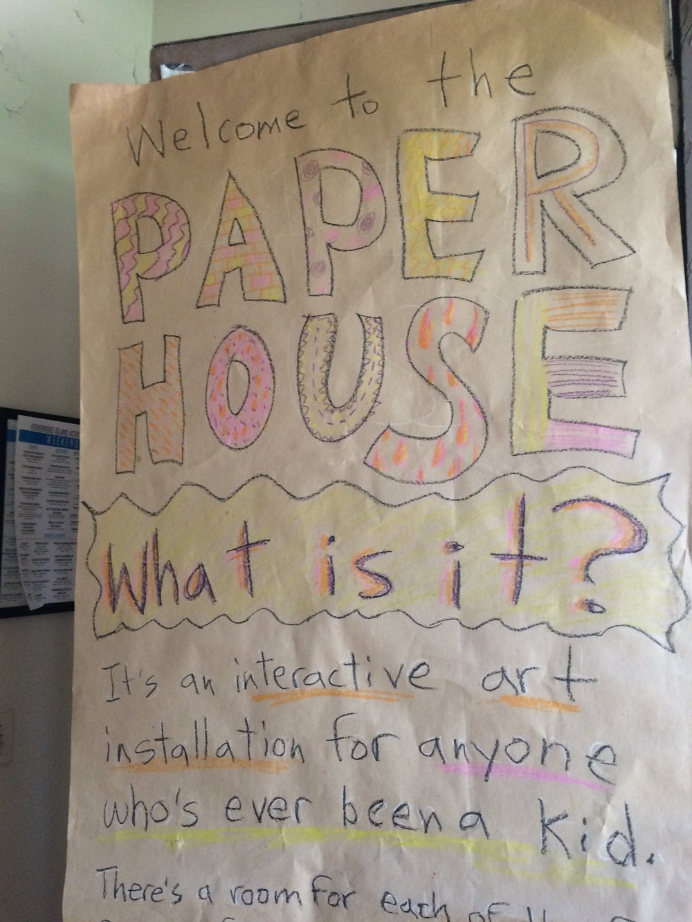 PAPER HOUSE 2016