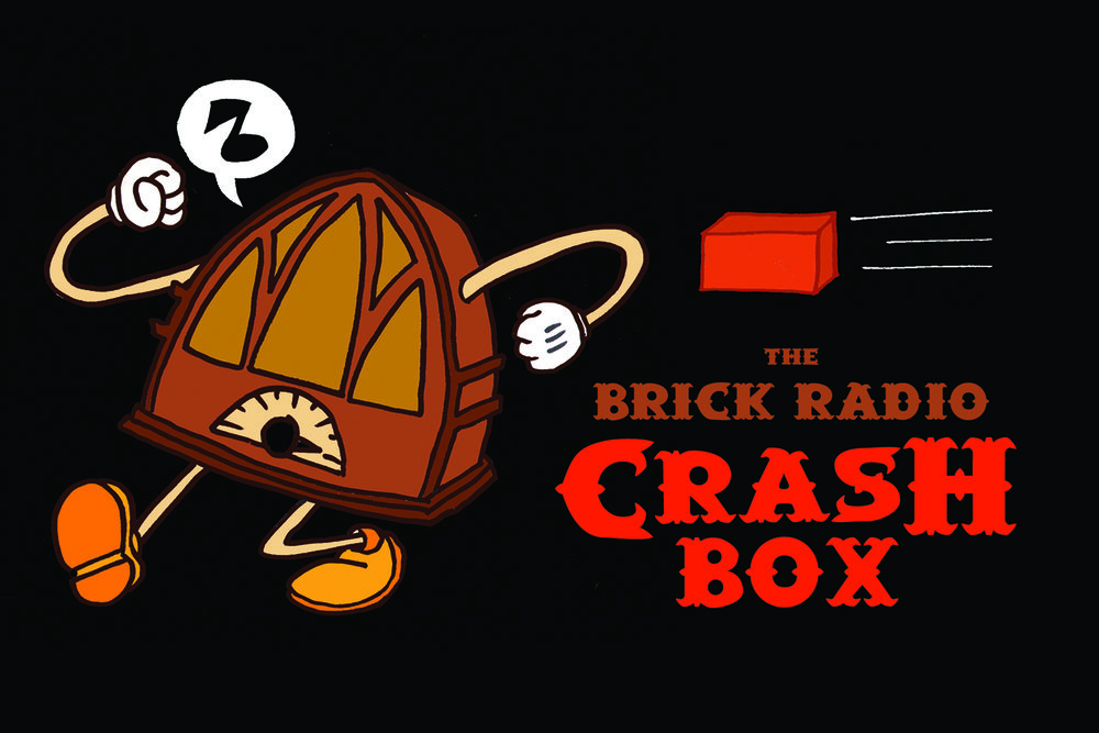 THE BRICK RADIO CRASH BOX