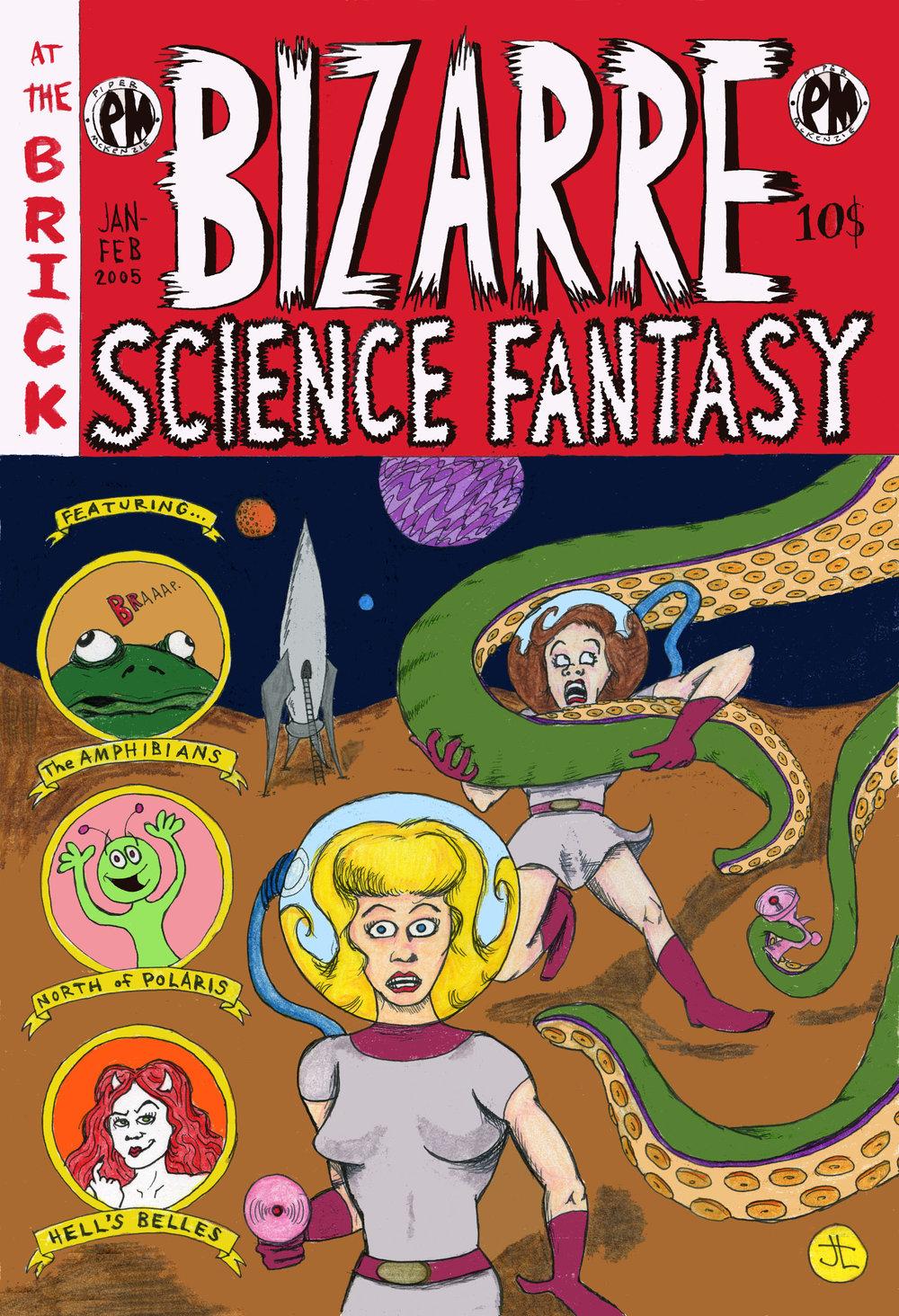 BIZARRE SCIENCE FANTASY