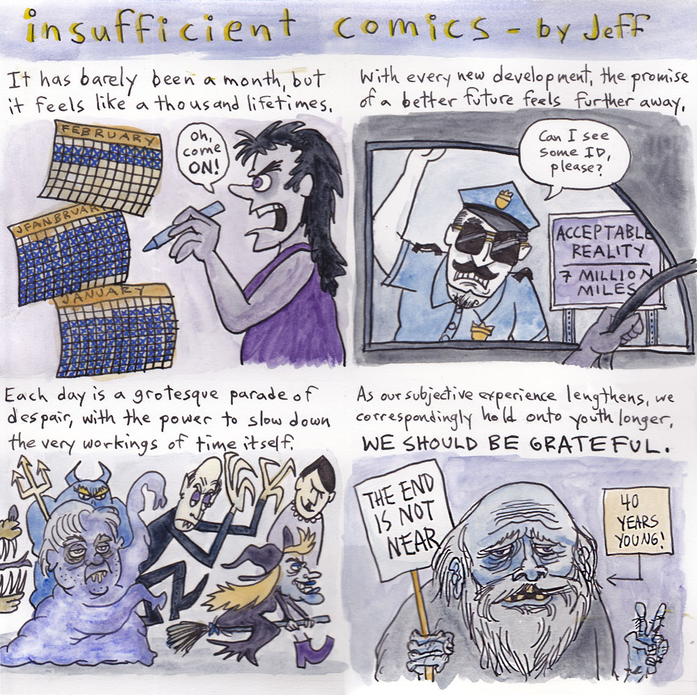INSUFFICIENT COMICS