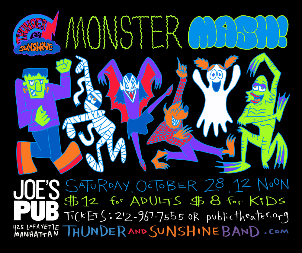 THUNDER & SUNSHINE MONSTER MASH