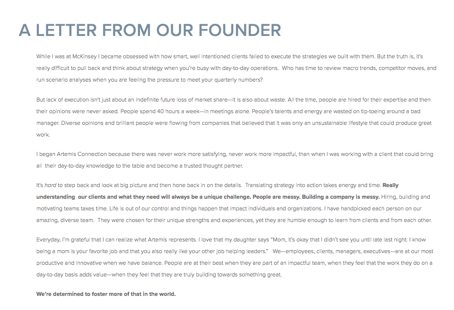 Letter From Our Founder & CEO