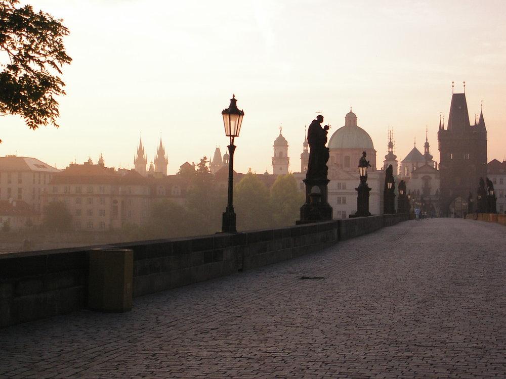 Charles Bridge in Prague, Czech Republic - Photo by Martin Callum