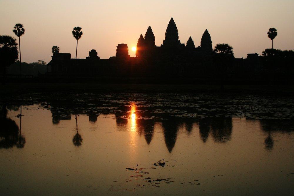 Angkor Wat at Sunrise, Siem Reap, Cambodia- photo by Martin Callum