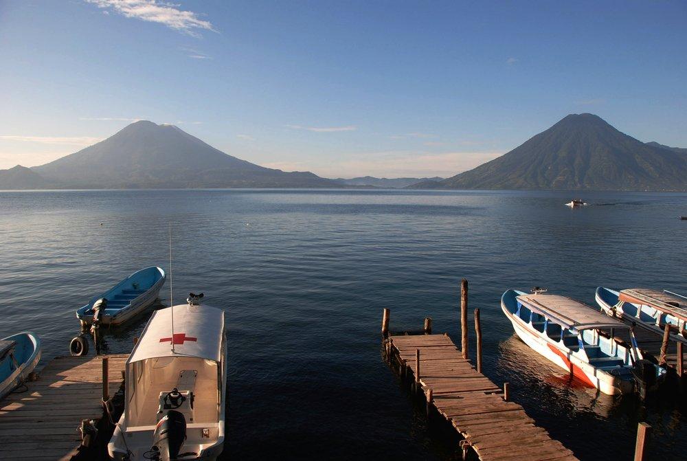 Lago Atitlan, Guatemala- photo by Martin Callum