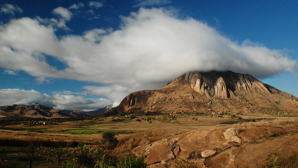 Mountains near Ambalavao - Photo by Martin Callum