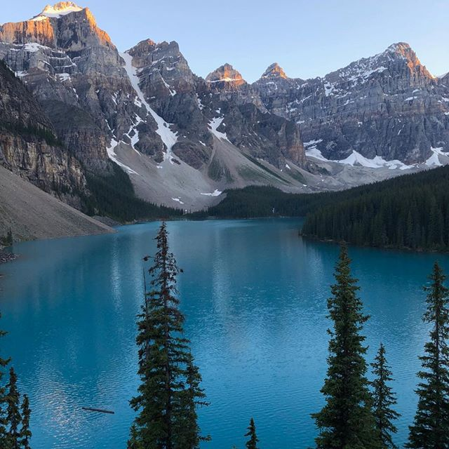 As usual - Moraine lake never disappoints!