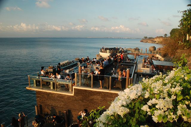 The third of my Rock Bar series - Uluwatu, Bali.  Stunning place for drinks at sunset.