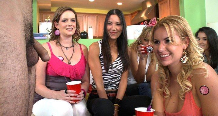 Her tight bikini girls strip party fucking