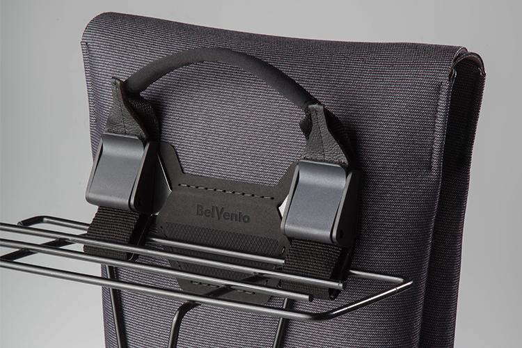 Anclaje a bici - Diseñada para anclarse al porta paquetes de tu bici con Sistema Claw®, que facilita el montaje y desmontaje del bolso de manera fácil, ágil y simple.