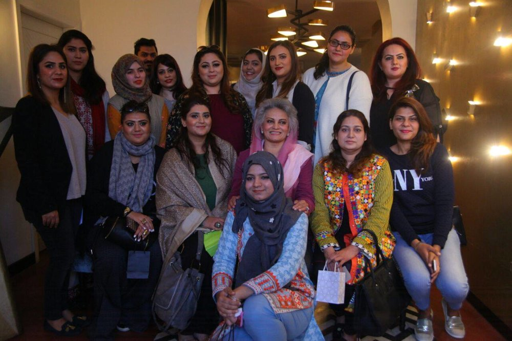 Bloggers & Social Media Community with the host Masarrat Misbah and Redah Misbah