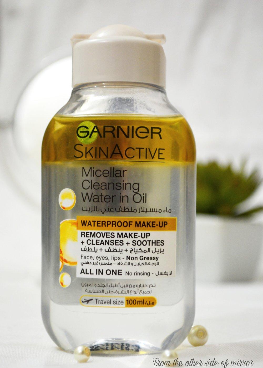 The Garnier Micellar Oil Infused Cleansing Water