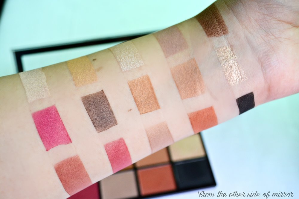 Makeup Revolution Reloaded Pallette - Iconic Vitality (swatches)