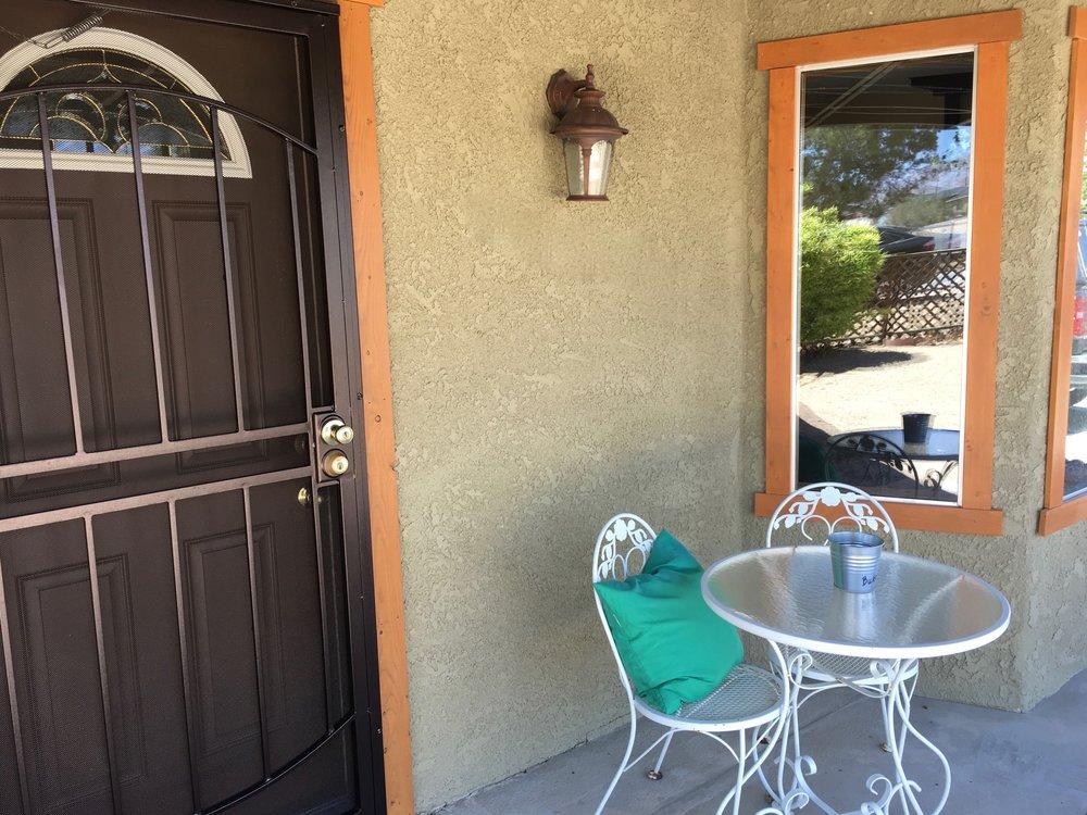 Pine Spring porch
