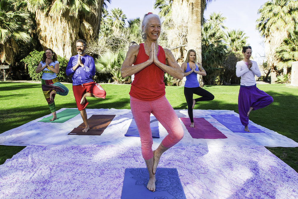 morning yoga 29 palms Inn - Rent29 share