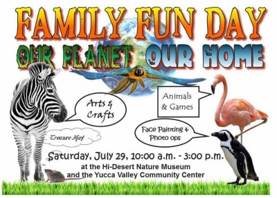 Yucca Valley Family Fun Day - July 29, 2017 - Shared by www.Rent29.com