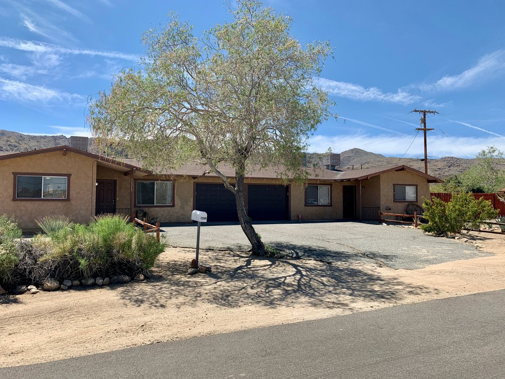 cactus duplex FURNISHED property IN 29 PALMS, ca OFFERED for Rent BY RENT29.COM