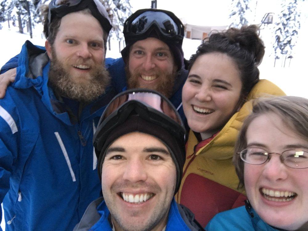 Internship Ski Day 2017