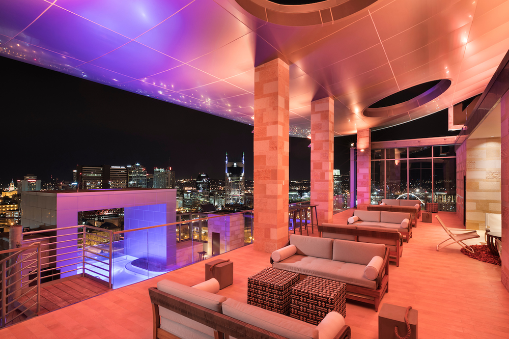 Previous Project:  L27 Rooftop Lounge