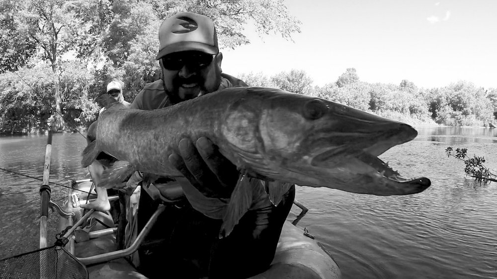 Black and White Musky