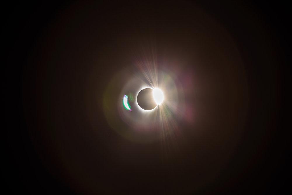 Diamond Ring - 8·21·17 Corvallis Oregon Total Eclipse.