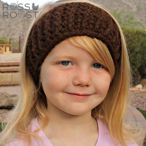 Caroling Headwrap Crochet Pattern — Ross Roost