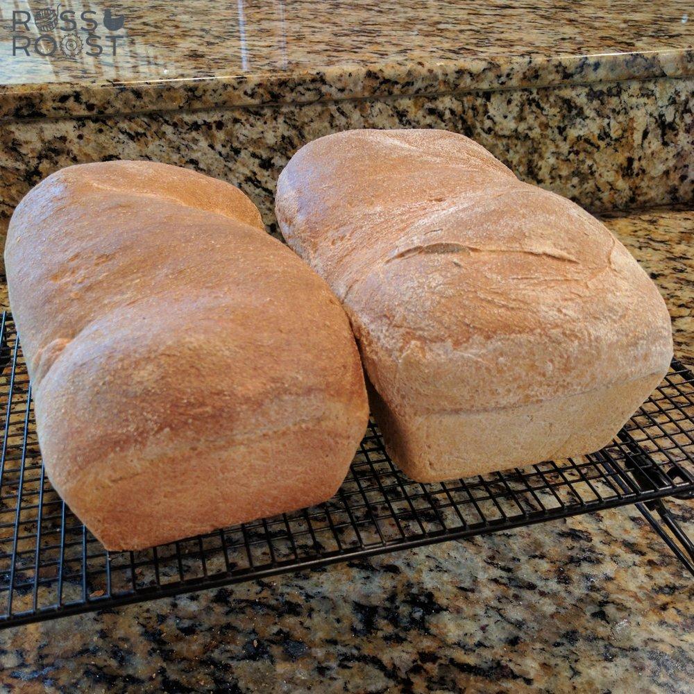 Legit sandwich bread. The recipe is perfect.