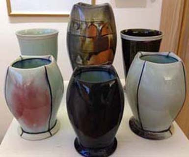 Andrew McIntyre's new vases and cups!