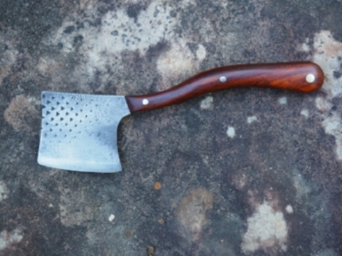 Hand-forged Walter Neill cheese chisel.