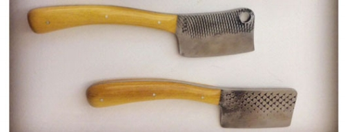 Cheese knives made by our own, Walter Neill. Check out some of his other creations on our web store  CLICK HERE.